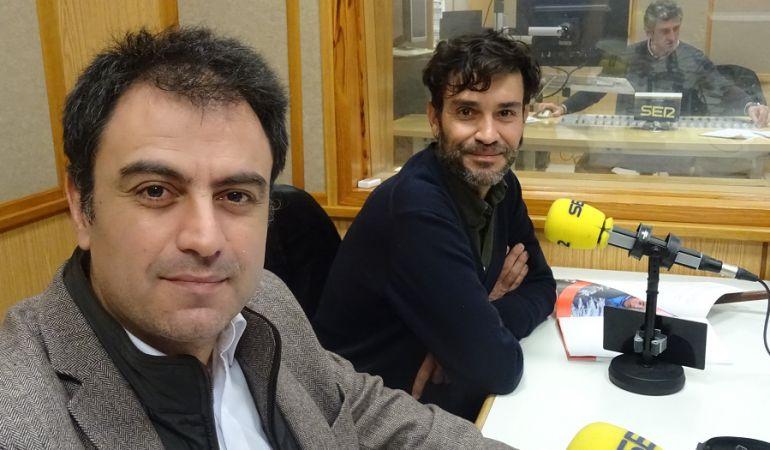 David del Campo y Javier Cuenca de Save the Children