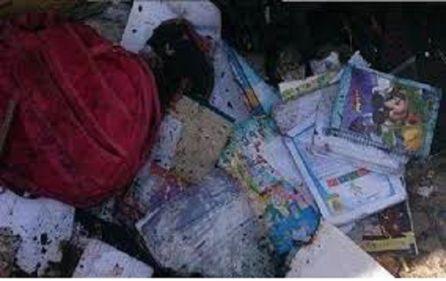 """""""Bombardear escuelas llenas de niños en Siria es una estrategia bélica"""""""