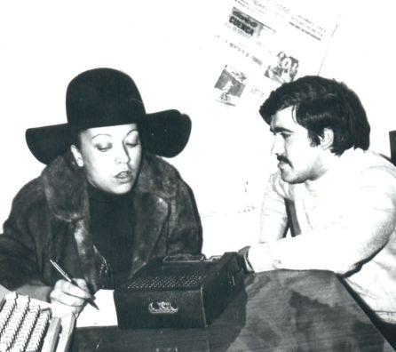 Mary Carmen y José Vicente Ávila en 1973.