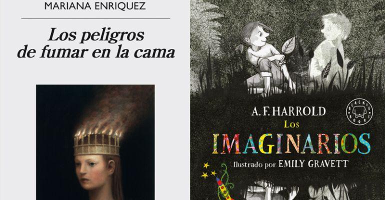 """Hablamos de """"Los peligros de fumar en la cama"""", de Mariana Enríquez y """"Los imaginarios"""", de A.F. Harold"""