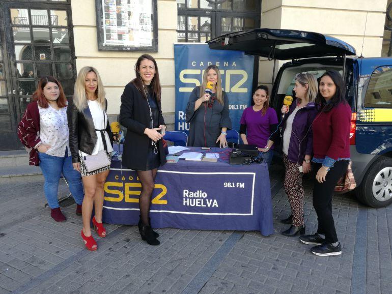 Hoy por Hoy Huelva desde el Gran Teatro con motivo del Día Internacional de la Mujer