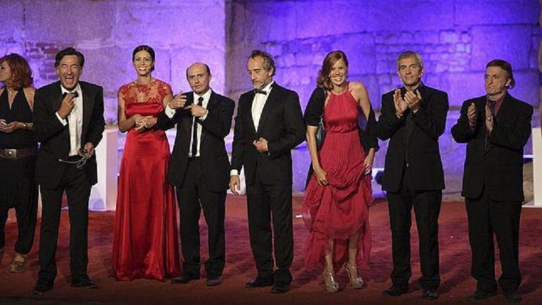 Un momento de la gala de entrega de los premios Ceres en 2012.