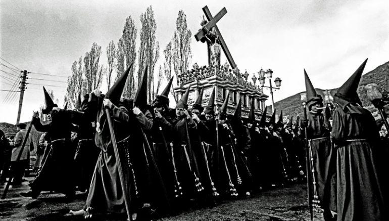Jueves Santo en Cuenca en 1968.