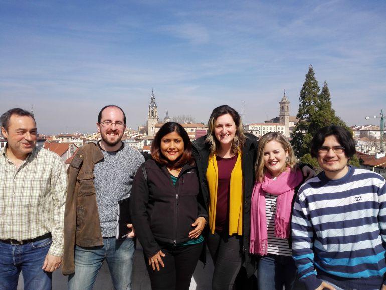 Algunos de los participantes de la lanzadera de Vitoria
