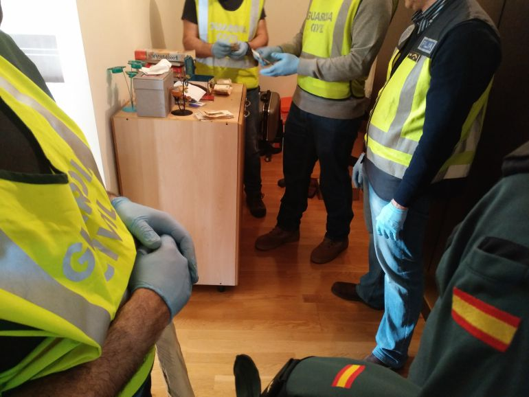 Detenidas 9 personas en una nueva operación antidroga