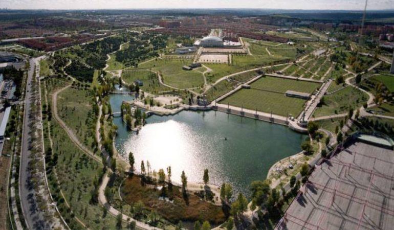 Obras en el dep sito de agua de tres cantos ser madrid for El jardin de tres cantos