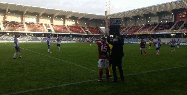Cara victoria del Pontevedra ante el Valladolid B en Pasarón
