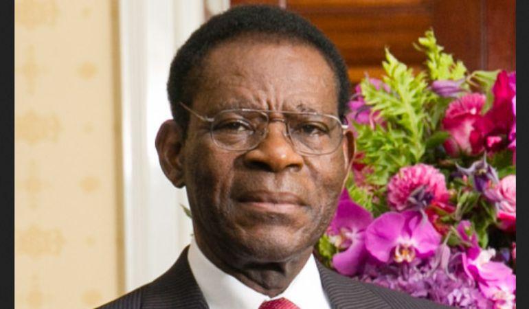 El dictador guineano Teodoro Obiang, en una imagen de archivo