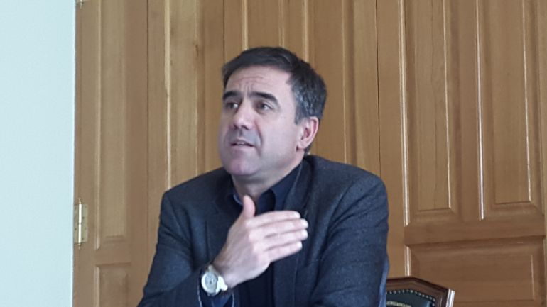 Miguel de los Toyos (PSE-EE), alcalde de Eibar