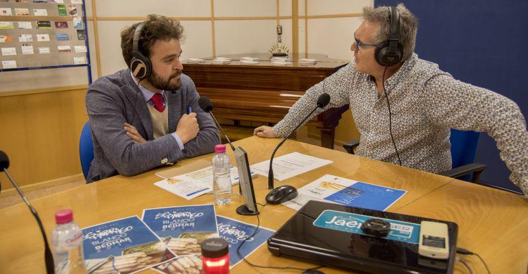 El alcalde de Bedmar y Garcíez, Juan Francisco Serrano, durante la entrevista en 'Hoy por Hoy Jaén'.