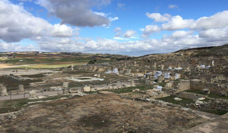 Foro romano de Segóbriga