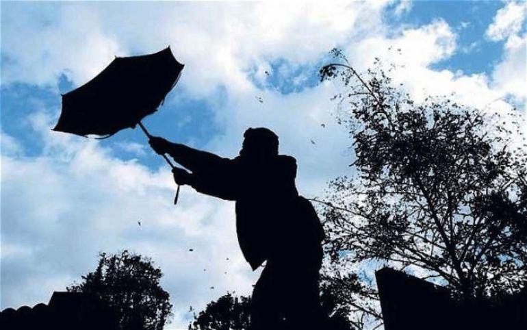 Extremadura ha estado en alerta por fuertes vientos.