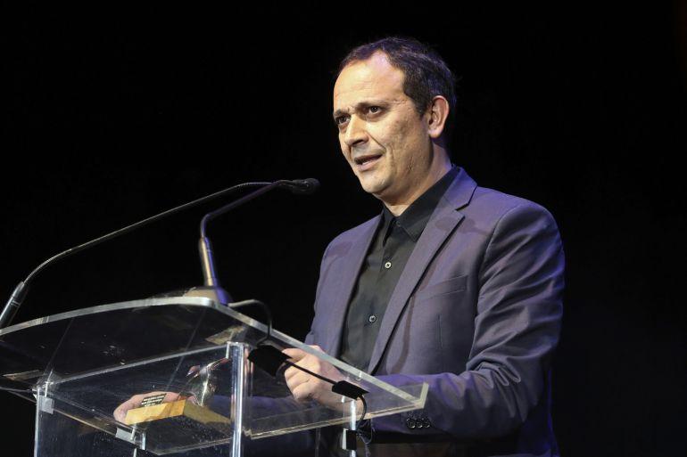"""El actor Luis Callejo recibe el premio al mejor actor protagonista por su papel en """"Tarde para la ira"""""""