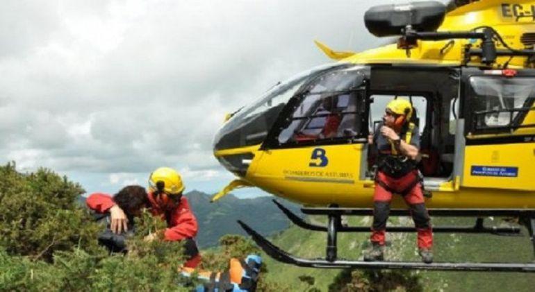 El Grupo de Rescate durante una intervención
