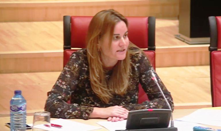 Gloria Acevedo, procuradora en las Cortes por el PSOE