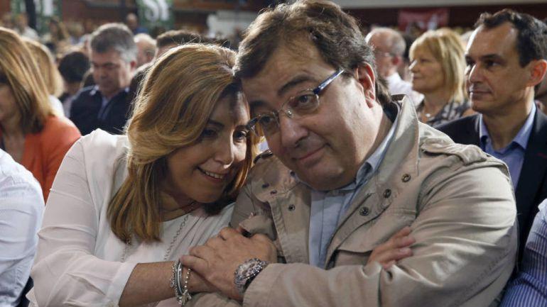 Susana Díaz y Fernández Vara.