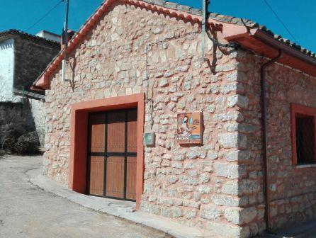 Edificio del horno de leña.