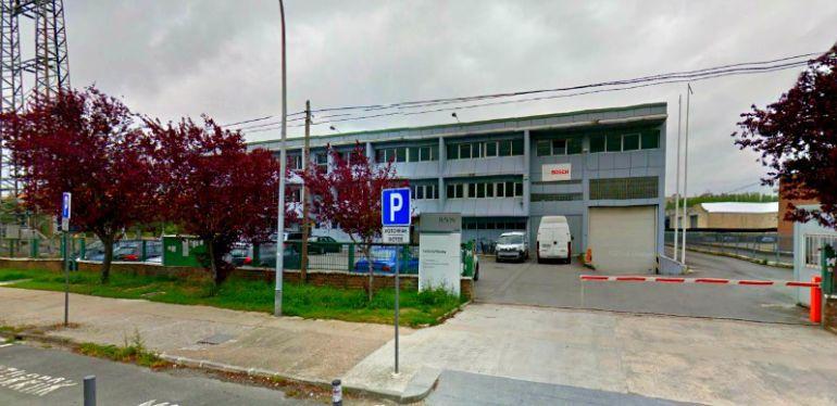Instalaciones de la planta Bosch en Vitoria