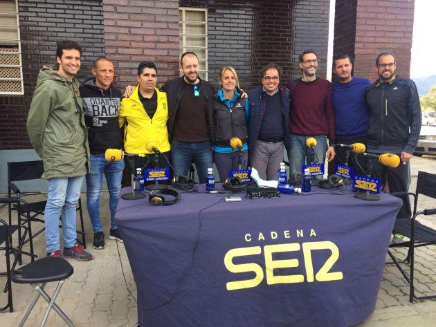 SER Deportivos de Radio Córdoba se ha realizado desde el patio de la calle Vicente Sereno