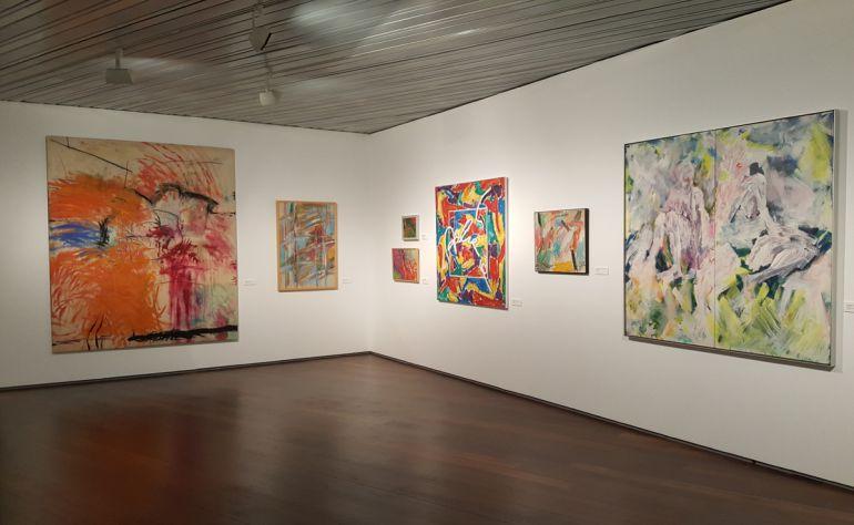 Exposición en el Centro Lorca de Granada.