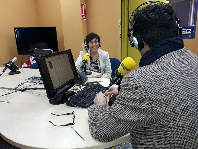 Entrevita a Mariela Fernández Bermejo en Radio Granada.