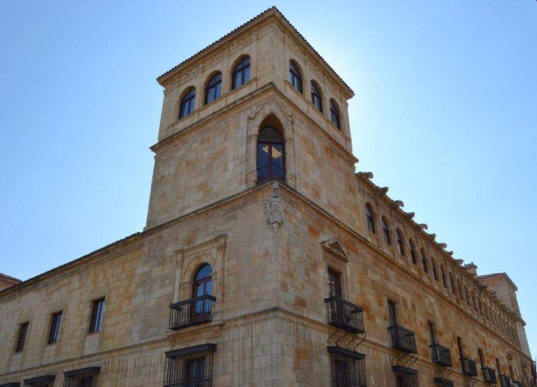 El Palacio de los Guzmanes, sede de la Diputación de León