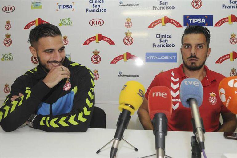 Rubén de la Barrera ha analizado el partido contra el Racing de Santander
