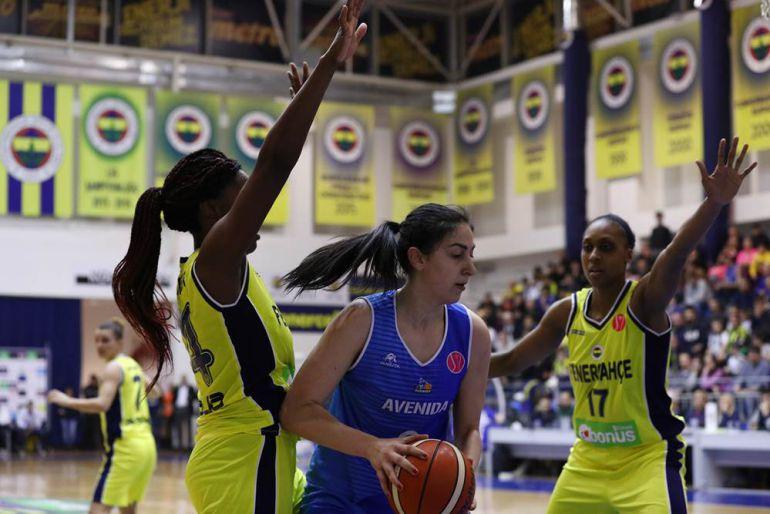 Imagen de FIBA del partido de ayer.