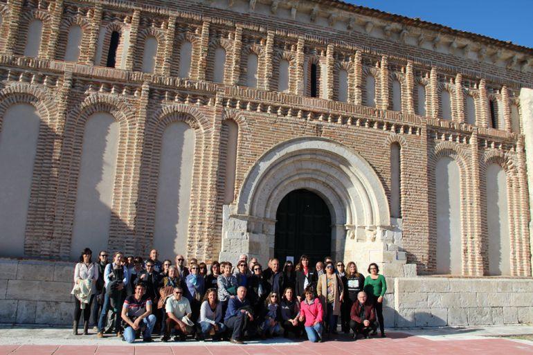 Miembros de la Asociación de Profesionales de Turismo Rural y Activo de Segovia visitan Cuéllar