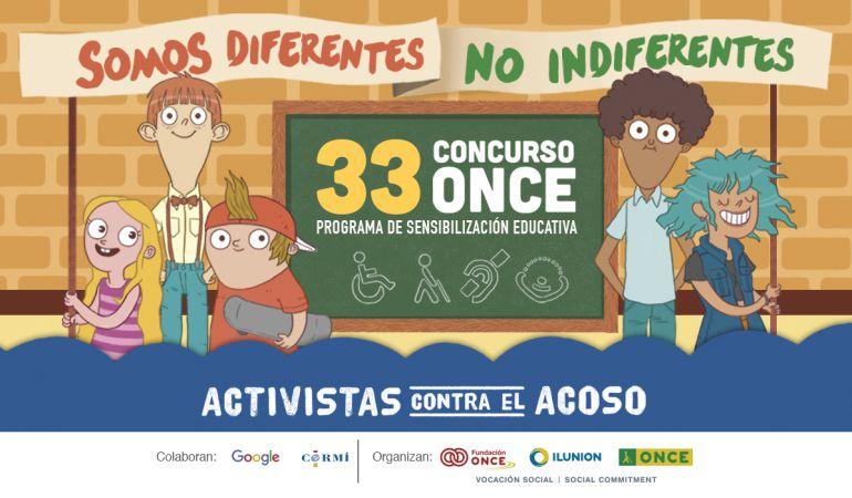 Cartel 33 concurso de la ONCE