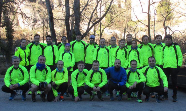 """Cuenca: """"Los hombres de Paco"""", diez años corriendo juntos"""