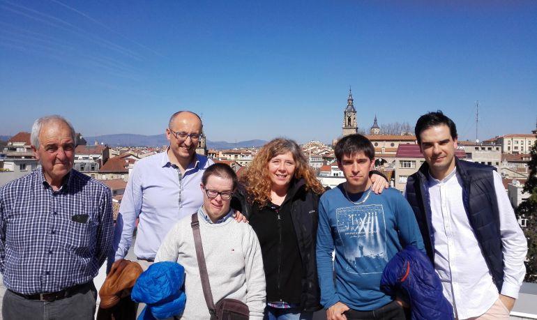 Oliver, Alberto y Anna participaron en el taller