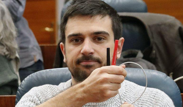 Ramón Espinar, secretario general de Podemos en la Comunidad de Madrid