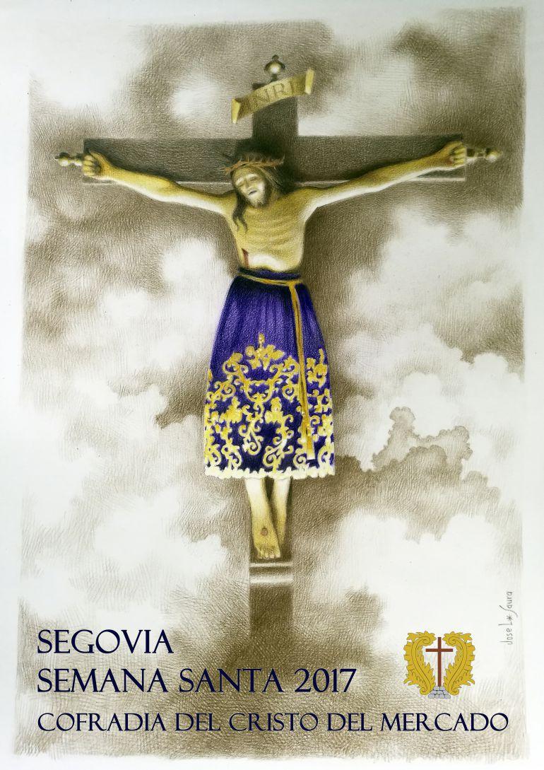 Cartel Semana Santa 2017 en la Cofradia del Cristo de Mercado
