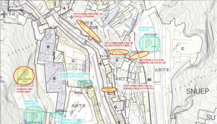 El Ayuntamiento estudia algunas alternativas de acceso contempladas en el Plan Especial