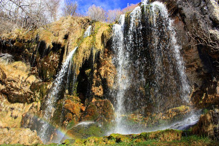 Cascada del Molino en Tragacete (Cuenca).