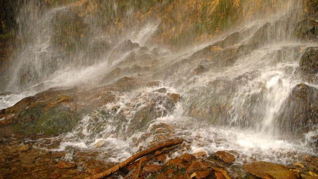 En este punto del río Júcar el agua corre todo el año.