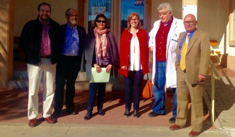 Visita al Centro de Salud de El Molar para poner en marcha su ampliación
