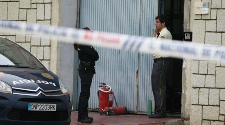 El depósito judicial del puerto de Málaga tras el suceso
