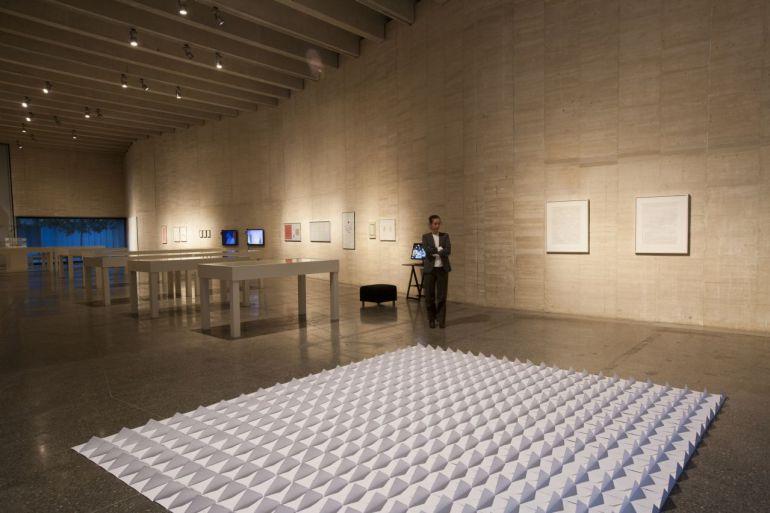 Uno de los espacios de la exposición 'Constelaciones'.