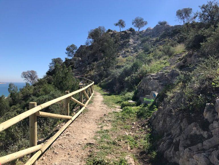 Adecuación de senderos en el Monte Benacantil