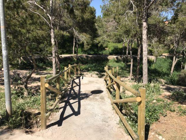 Sendero reformado en el Monte Benacantil
