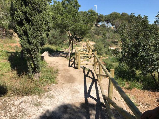 REpoblación y adecuación de senderos en el Monte Benacantil