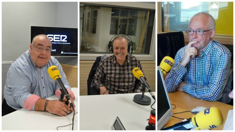 Azkarraga, Rodríguez y Uriarte debaten sobre el anuncio de desarme de ETA