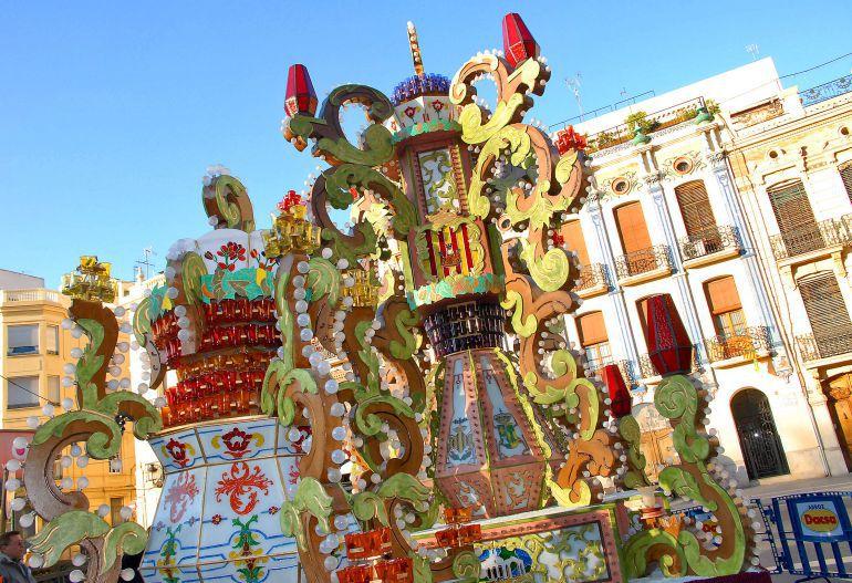Fiestas de la Magdalena 2017: Las Gaiatas iluminarán desde hoy las calles de Castellón