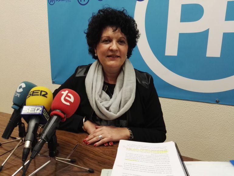 Manuela Mora, concejala del PP Elche
