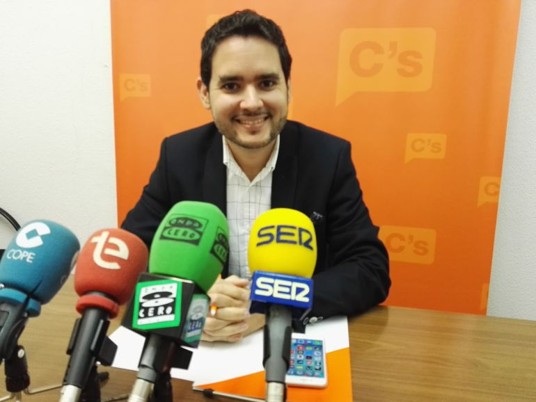 David Caballero, portavoz de Ciudadanos Elche
