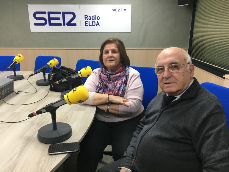 Acacia Vera y Regino Pérez en Embajada