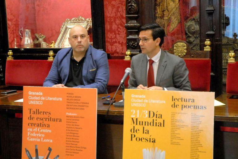"""Presentación de los actos del programa """"Ciudad de la Literatura UNESCO"""" en Granada"""