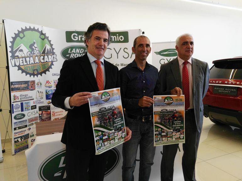 Presentación del cartel anunciador de la prueba ciclsita
